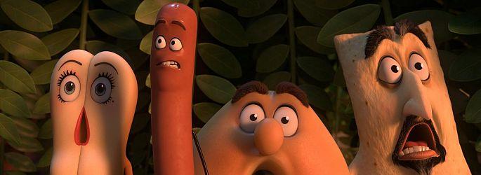 """Kein Nachschlag? """"Sausage Party 2"""" ist Seth Rogen relativ wurscht"""