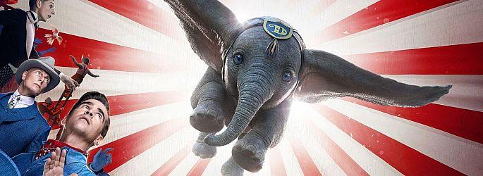 "Erster Trailer zur Realverfilmung: Tim Burtons ""Dumbo"" hebt ab"