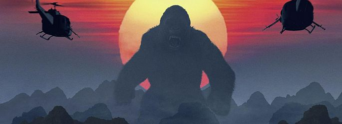 """Kong - Skull Island""-Trailer am Mittwoch, gewaltige Teaser & Poster jetzt!"
