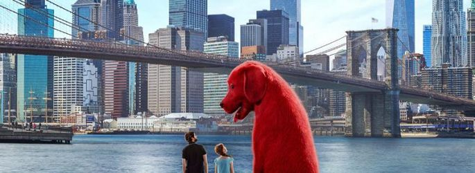 """Wirklich groß: Erster Blick auf """"Clifford der große rote Hund"""""""