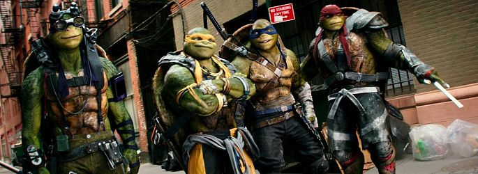 "Simpel, aber süß: Vier Poster zu ""Teenage Mutant Ninja Turtles 2"""