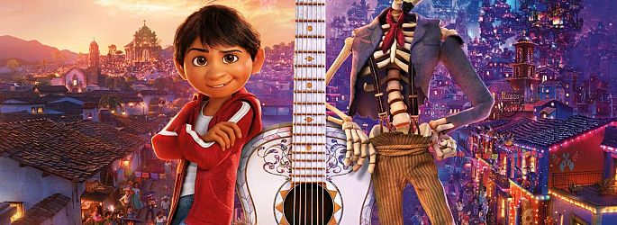 """Musik trifft Ahnenforschung auf Pixars neuem """"Coco""""-Poster"""