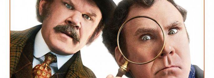 """Voll verpeilt: """"Holmes & Watson"""" schnüffeln auf neuem Poster"""