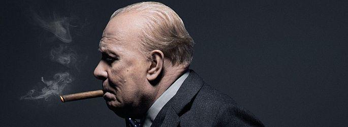"""Erster Trailer: Gary Oldman in """"Churchill - Die dunkelste Stunde"""""""