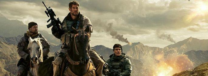 "Chris Hemsworth im neuen ""12 Strong""-Trailer wieder hoch zu Ross"