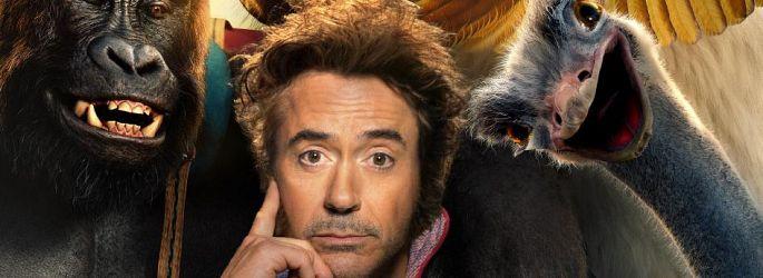 """Nach den """"Dolittle""""-Postern nun das: Downey Jr. castet Tiere!"""