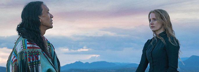 """Woman Walks Ahead""-Trailer: Jessica Chastain malt Sitting Bull"