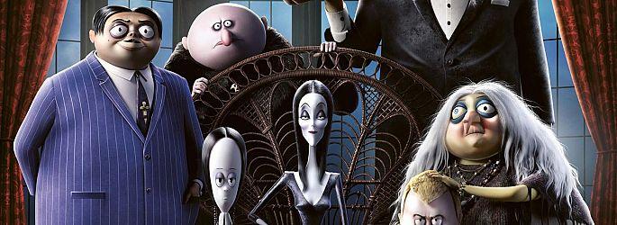 """First Look: MGM enthüllt """"The Addams Family"""" und die Sprecher"""