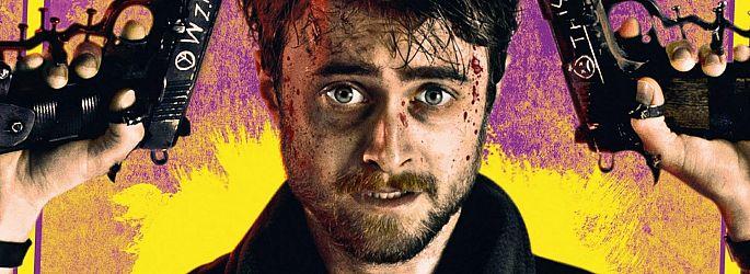 """Daniel Radcliffe durchgeknallt: Erster """"Guns Akimbo""""-Trailer"""