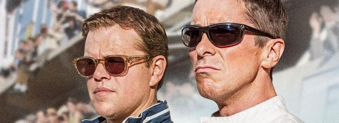 "Neuer ""Le Mans 66""-Trailer: Christian Bale & Matt Damon racen"