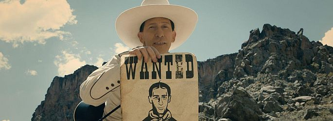 "Coens auf Netflix: Neuer Trailer zu ""The Ballad of Buster Scruggs"""