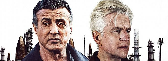 """Rückschritt? Sylvester Stallone wertet """"Backtrace""""-Trailer auf"""