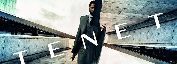 "Mutig, mutig: Zwei neue Poster zu Christopher Nolans ""Tenet"""