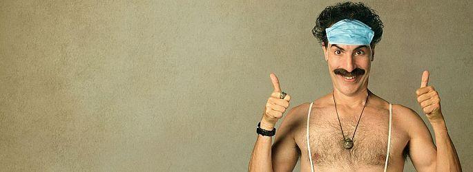 """Borat 2""-Trailer! Sacha Baron Cohen landet bei Amazon Prime"