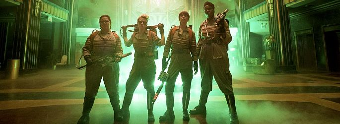 "Internet hasst ""Ghostbusters"", Feig in Rage + Neue Trailer-Version"