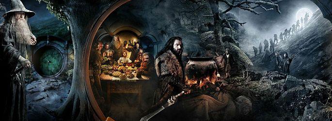 """""""Der Hobbit"""" Trailer endlich auch auf Deutsch"""
