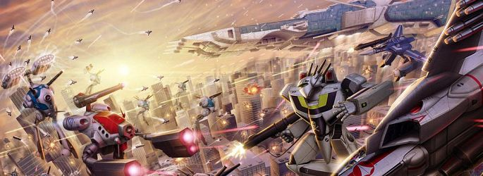 """Wonder Woman""-Autor bestreitet ""Robotech""-Kampf um die Erde"