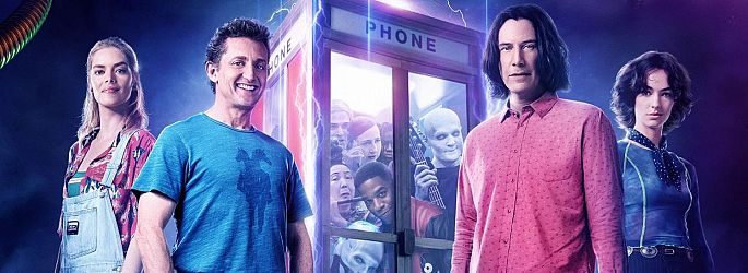 "Da ist Musik drin: Keanu Reeves zu ""Bill & Ted 3"" und ""John Wick 3"""