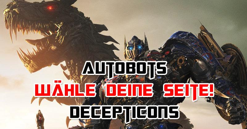"""Auf welcher """"Transformers""""-Seite stehst du?"""