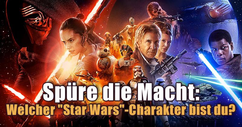 """Welcher """"Star Wars"""" Charakter bist du?"""