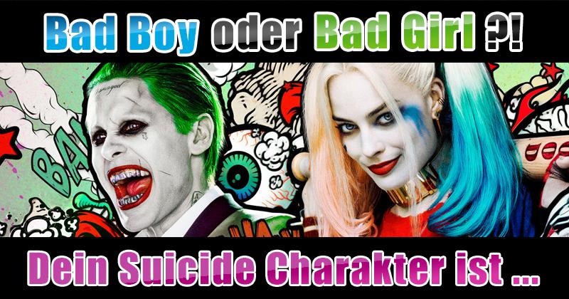 """Welches """"Suicide Squad""""-Mitglied wärst du?"""