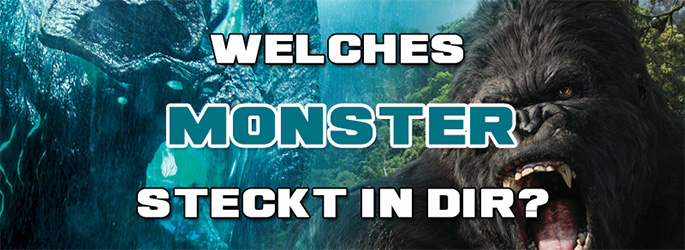 Creature Feature: Welches Filmmonster steckt in dir?