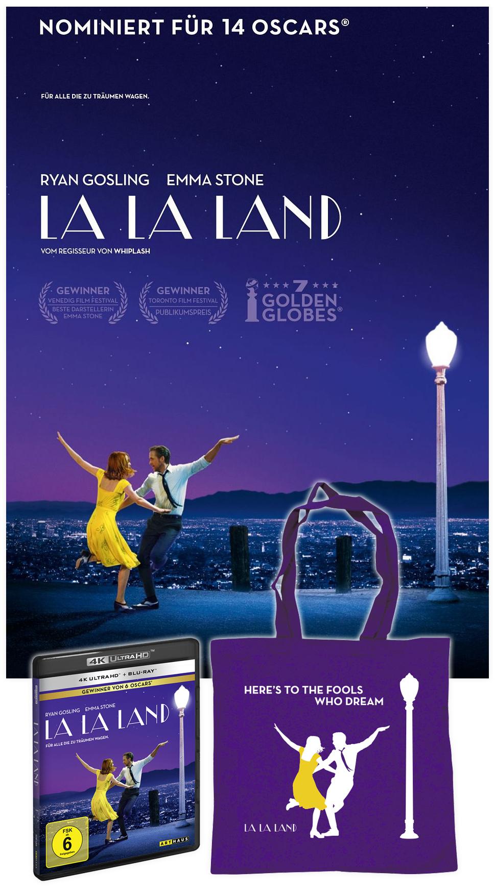 """Bild 1:Beschwingt mit unserem """"La La Land""""-Gewinnspiel abräumen!"""