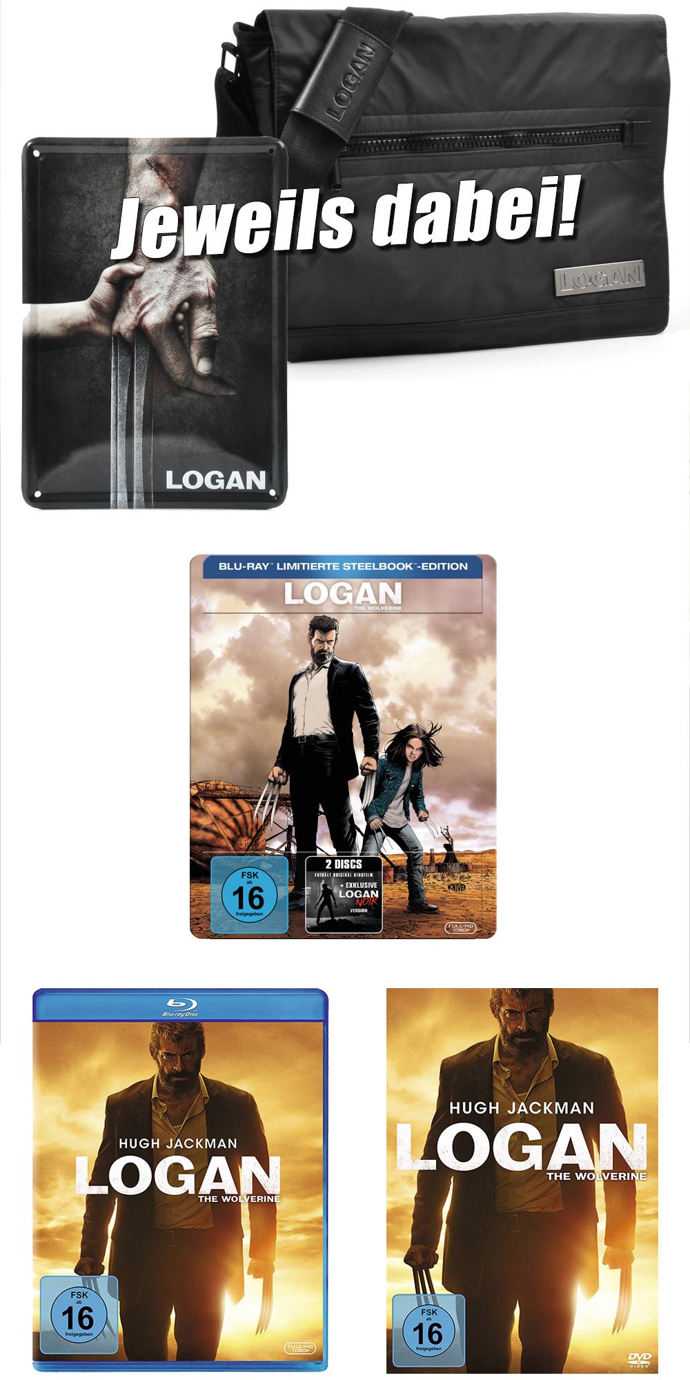"""Bild 1:Gewinnt 3 Fanpakete zur """"Logan - The Wolverine"""" Heimkino-Veröffentlichung!"""
