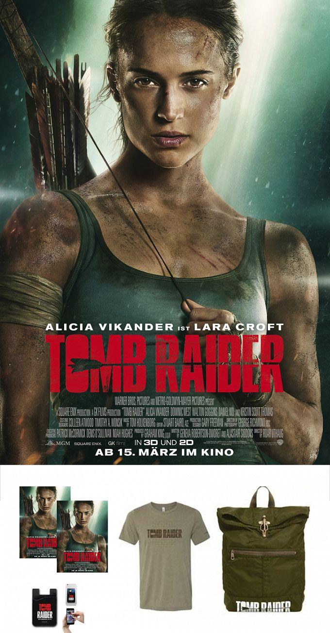 """Bild 1:Drei Fanpakete im """"Tomb Raider""""-Gewinnspiel für euch!"""