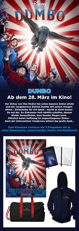 """Bild 1:Zum Abheben: Unser Gewinnspiel zum """"Dumbo""""-Kinostart!"""