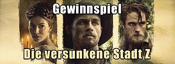 """Durchblick in unserem """"Die versunkene Stadt Z""""-Gewinnspiel"""