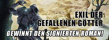 """Gewinnt """"Exil der gefallenen Götter"""", den Sci-Fi-Roman von Kaishaku-Nin!"""