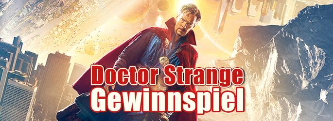 """Magisch! Signiertes Poster & Blu-rays von """"Doctor Strange"""" gewinnen!"""