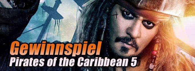 """Yohoho! Mitmachen im """"Pirates of the Caribbean 5""""-Gewinnspiel!"""