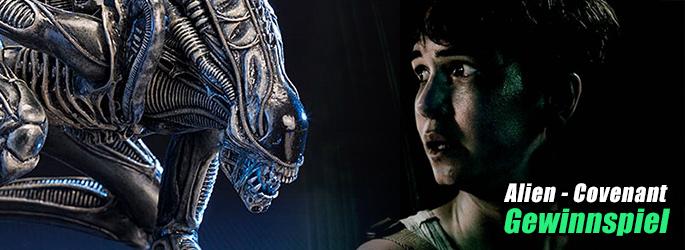 """Gewinn die Alien-Statue zum Filmstart von """"Alien - Covenant""""!"""