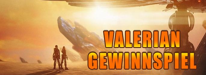 """Galaktische Fanpakete zum """"Valerian""""-Kinostart gewinnen"""