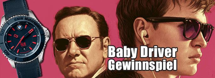 """Gewinne eine Ice-Watch zum """"Baby Driver""""-Kinostart!"""