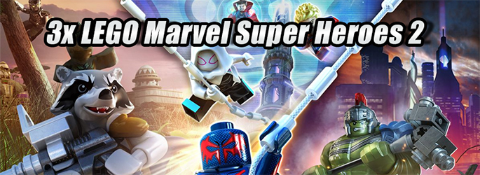 """Gewinnt 3x """"LEGO Marvel Super Heroes 2"""" samt Goodies!"""