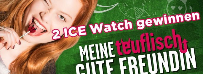 """2 ICE Watch zum Kinostart von """"Meine teuflisch gute Freundin"""" gewinnen"""