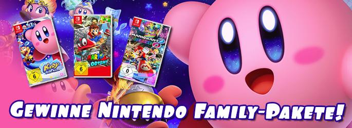 Gewinne 3 Familienpakete für die Nintendo Switch