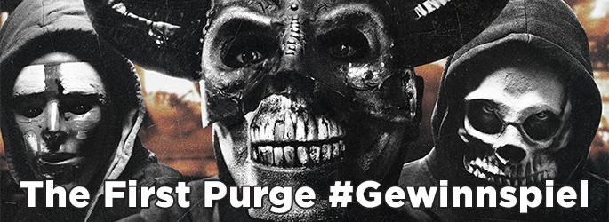 """Gewinne das """"PURGE-Trilogie 4K-Box-Set"""" zum """"The First Purge""""-Kinostart!"""