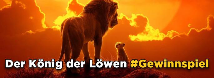 """Sei ein Sieger im """"Der König der Löwen""""-Gewinnspiel!"""