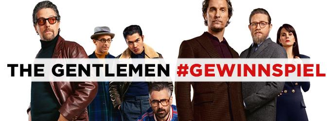 """Gewinne ein Bluray-Steelbook zu """"The Gentlemen""""!"""