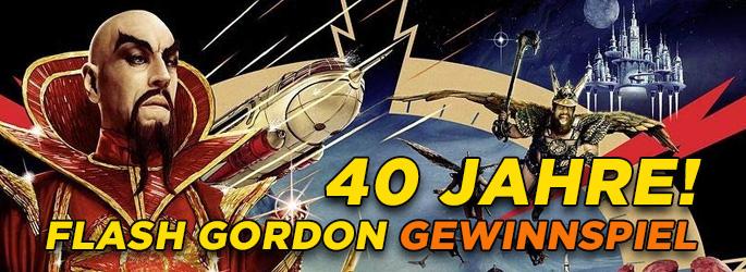 """Zum 40-jährigen Jubiläum: Gewinne """"Flash Gordon"""" in restaurierter Fassung!"""