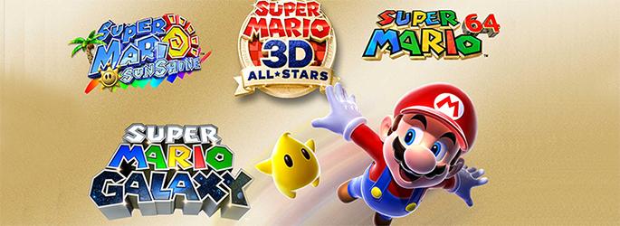 Gewinne 3x Super Mario 3D All-Stars für die Switch