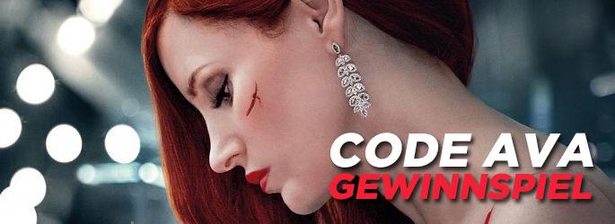 """Blu-rays und DVDs zu """"Code AVA"""" mit Chastain und Farrell zu gewinnen!"""