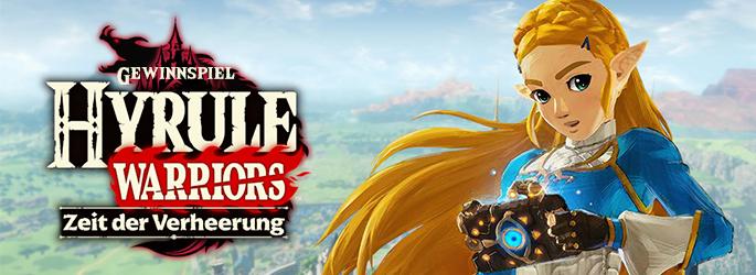 """Gewinne """"Hyrule Warriors - Zeit der Verheerung"""" für die Nintendo Switch!"""