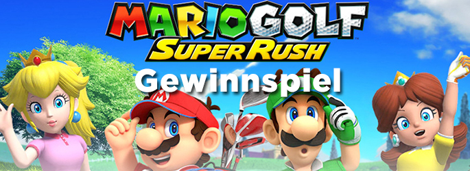 """Gewinne """"Mario Golf - Super Rush"""" für die Nintendo Switch!"""