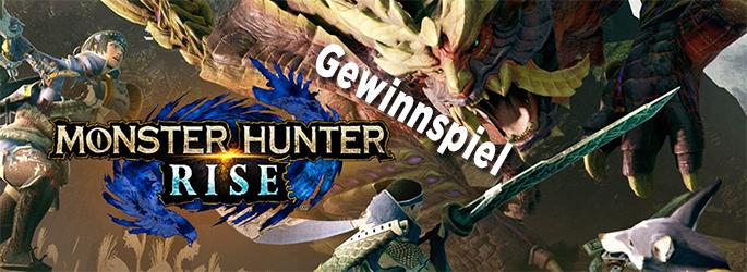 """Gewinne eine """"Monster Hunter Rise""""-Nintendo Switch und das Spiel"""