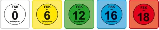 Bild 1:FSK & MPAA - Film-Freigaben in Deutschland und den USA